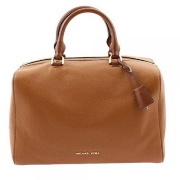 ee0509838af2 MICHAEL Michael Kors Bags   Michael Kors Leather Kirby Satchel ...